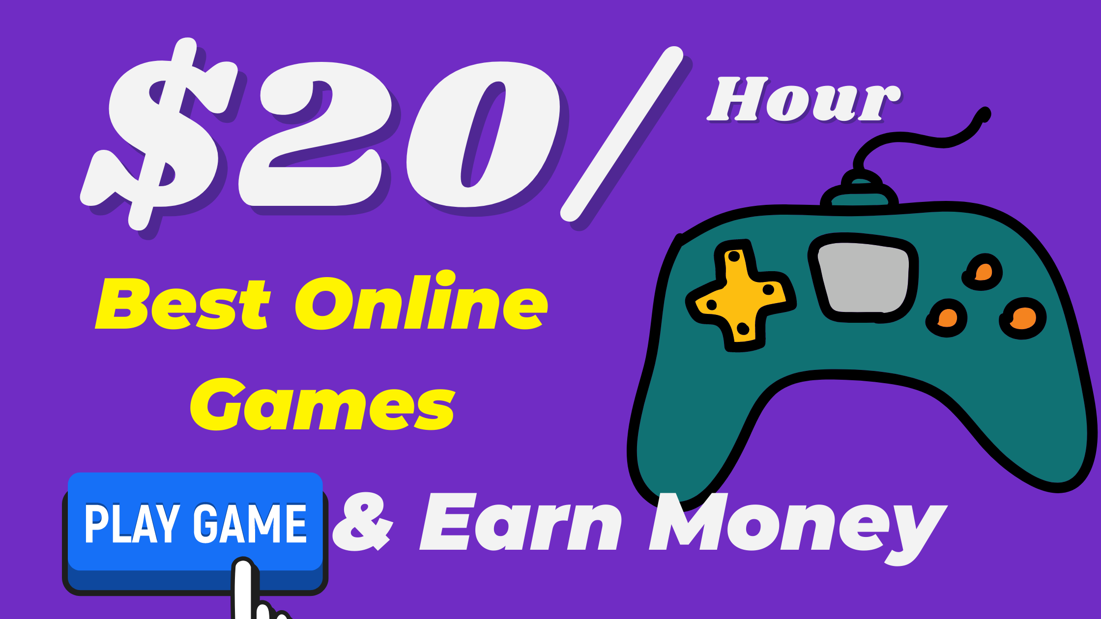 5 Best Online Games To Earn Money $20 Per Hour (Free Register)