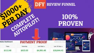 Review: DFY Review Funnel To Generate $1000+ Per Day On Complete Autopilot!
