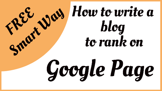 Quora Question: How do I improve my blog in Google Rankings?