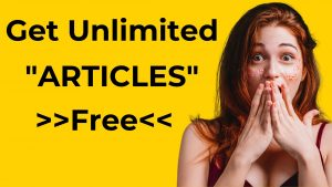 FREE Article Spinfree Tool That Creates Unlimited Simple Synonyms.