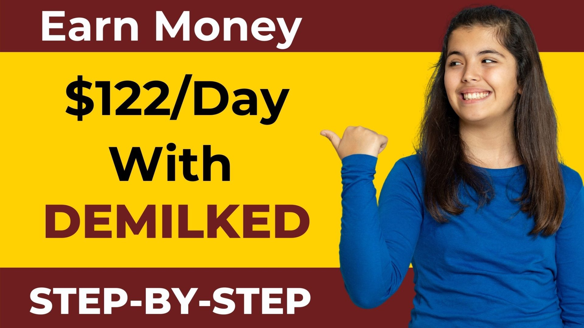 DEMILKED The Best Platform To Earn $122 Per Day💰💰💰 How?